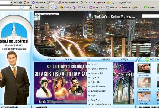 Sisli Web Sitesi